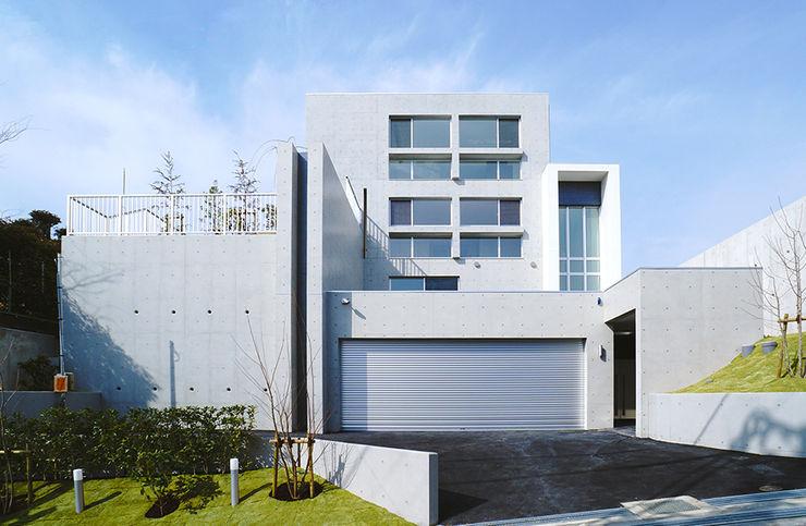 JPホーム株式会社 Single family home Concrete Grey