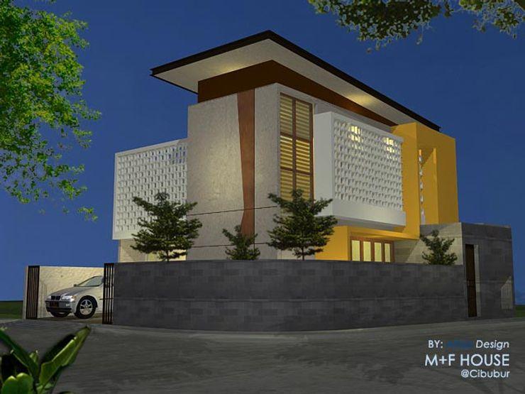 Alfaiz Design Single family home Stone White