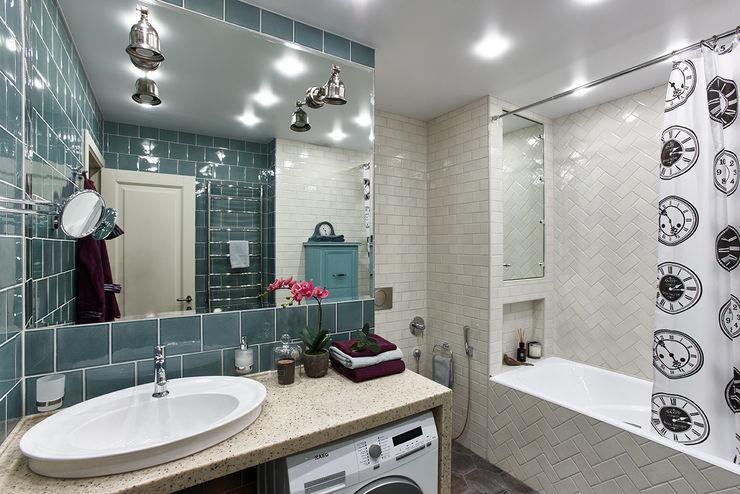Ванная Вира-АртСтрой Ванная комната в эклектичном стиле