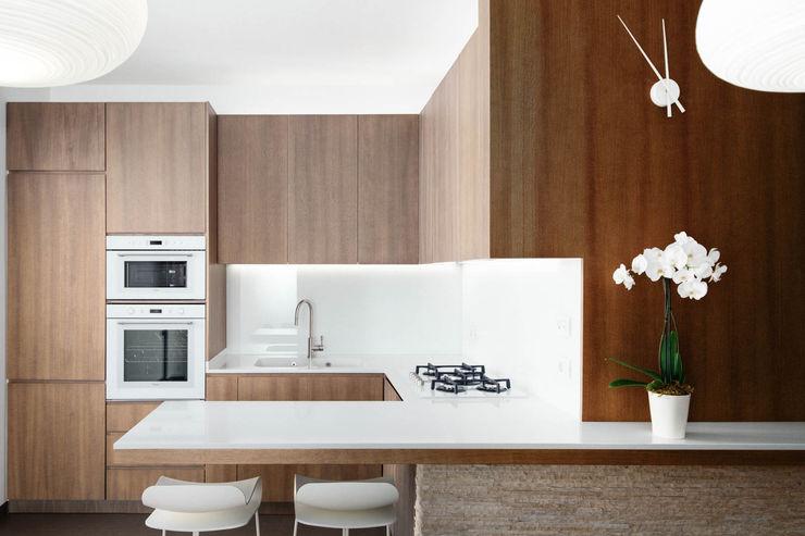 Cucina manuarino architettura design comunicazione Cucina attrezzata Legno Marrone