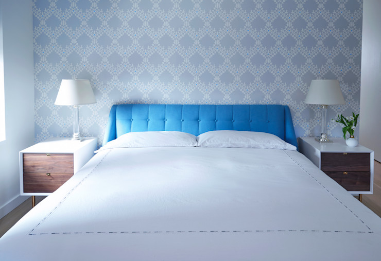 Tribeca Apartment Sarah Jefferys Design Modern Bedroom