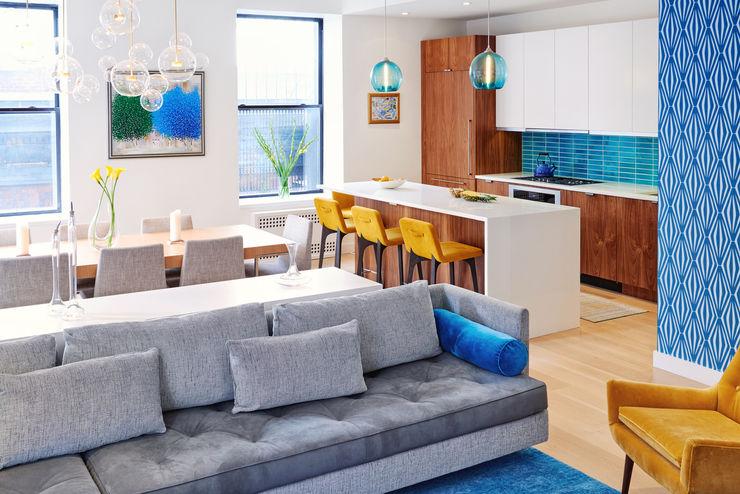 Tribeca Apartment Sarah Jefferys Design Modern Living Room