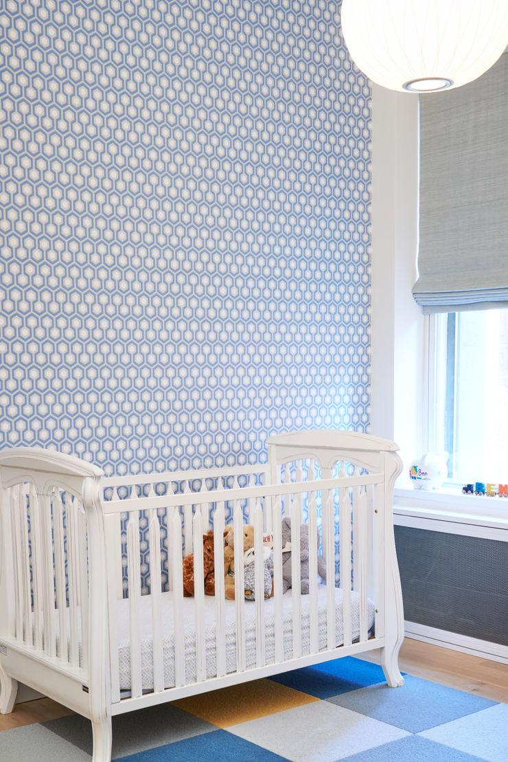 Tribeca Apartment Sarah Jefferys Design Modern Kid's Room