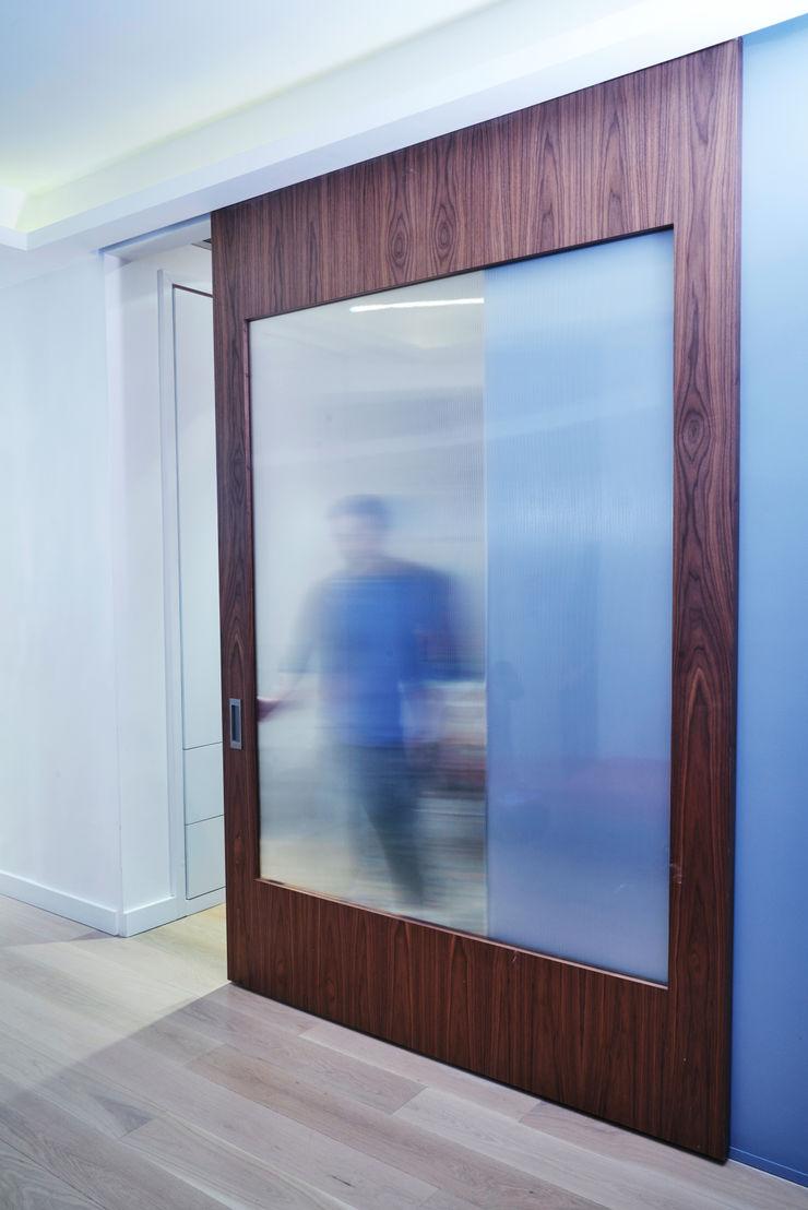 Tribeca Apartment Sarah Jefferys Design Modern style doors