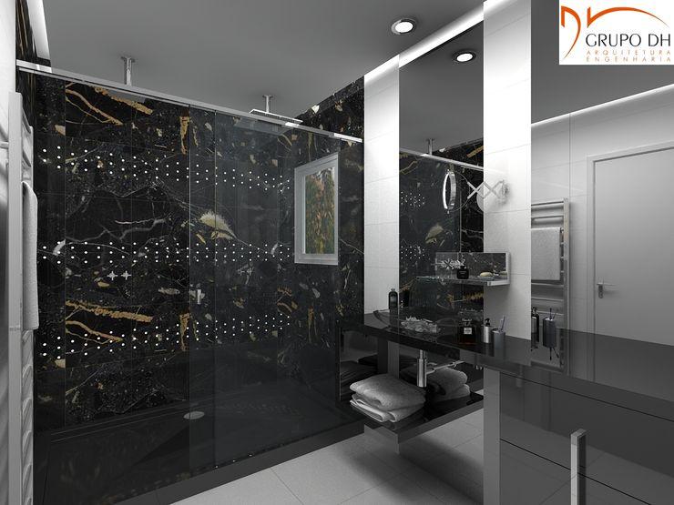 Grupo DH arquitetura Ванна кімнатаВанни та душові Чорний