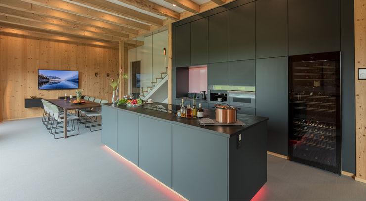 Kücheninsel Studio Meuleneers Küchenzeile