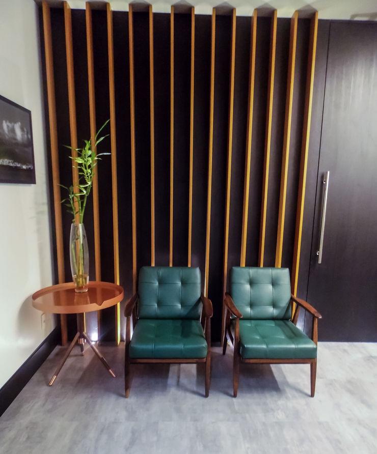 studiok arquitetura Modern Study Room and Home Office