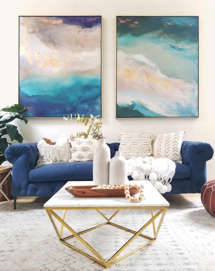 Saint Helena and Labradorite Dream No. 1 Julia Contacessi Fine Art ArtworkPictures & paintings
