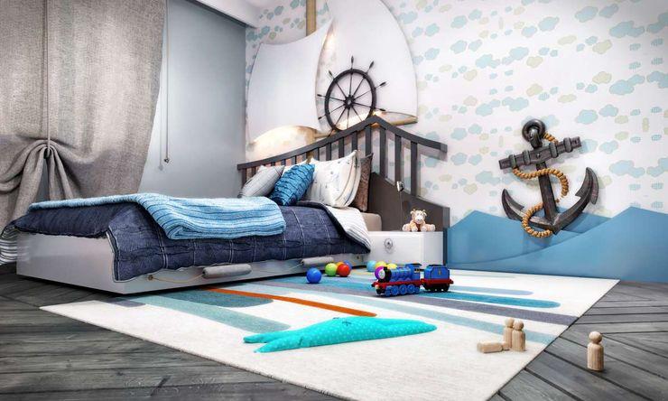VERO CONCEPT MİMARLIK Dormitorios infantiles modernos