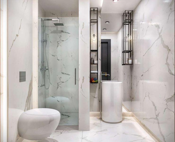 Kalafatoğlu Villa İç Mekan VERO CONCEPT MİMARLIK Modern Banyo