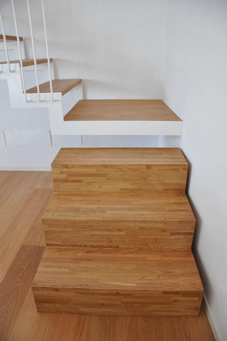Casa con corte atelier architettura Scale