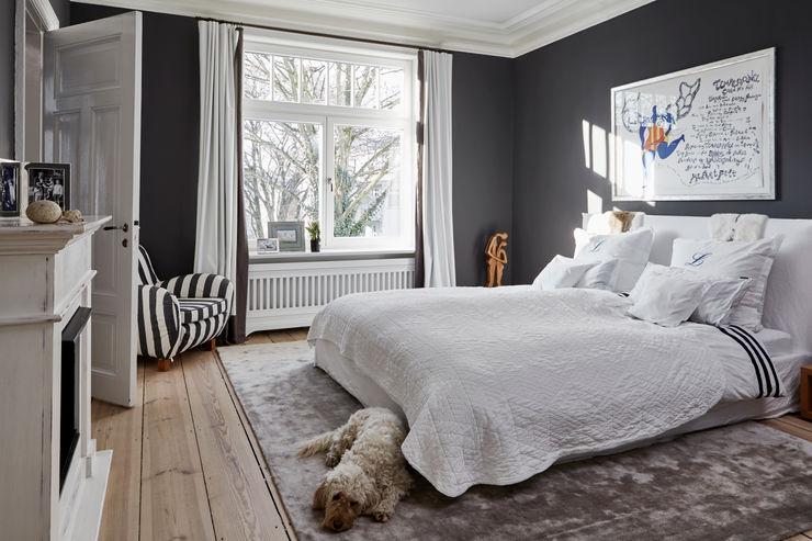 Umbau eines Stadthauses Anja Lehne interior design Klassische Schlafzimmer