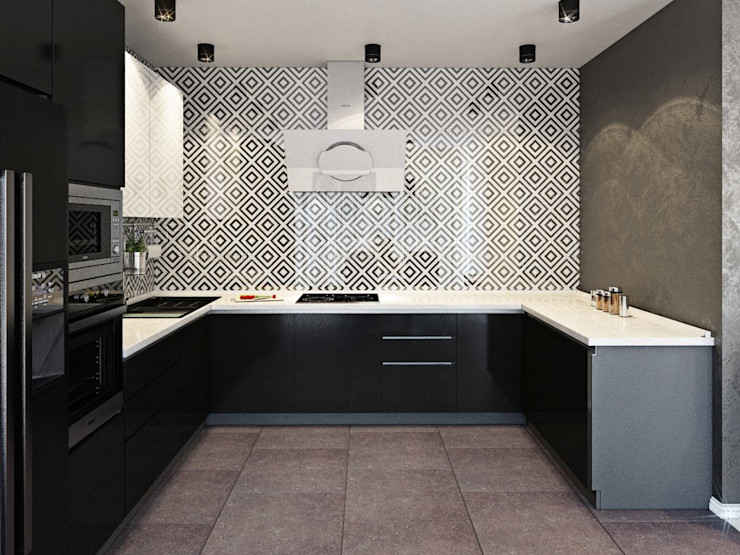 ДизайнМастер Кухня Сірий