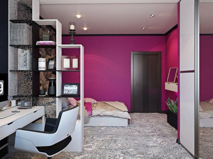 ДизайнМастер Спальня Рожевий