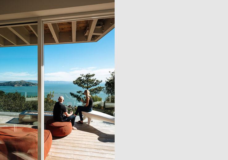 Sausalito Outlook Feldman Architecture Modern Terrace