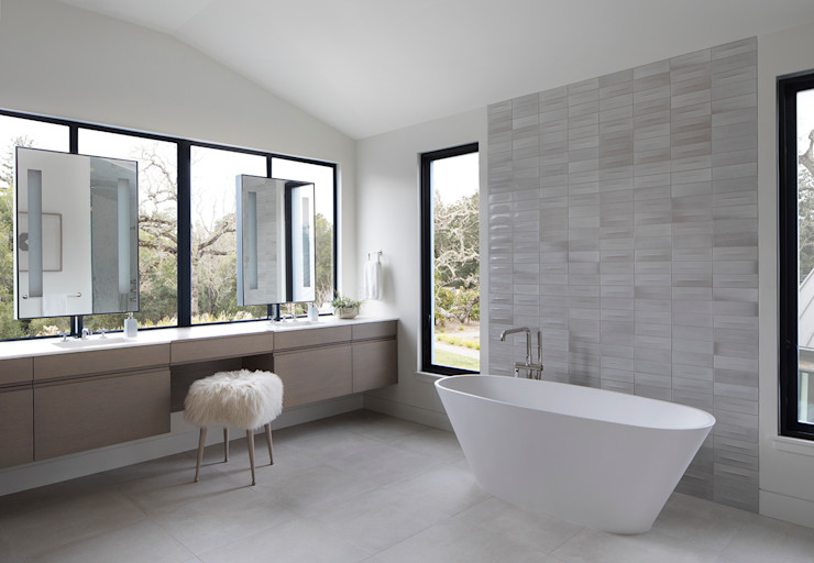 Feldman Architecture Modern bathroom