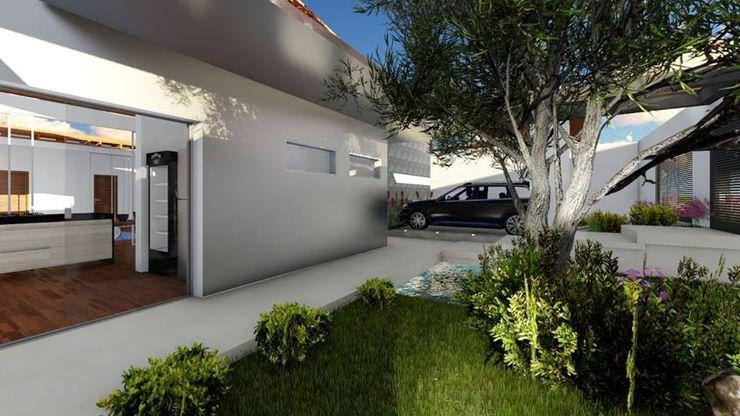 Acesso principal realizearquiteturaS Casas familiares