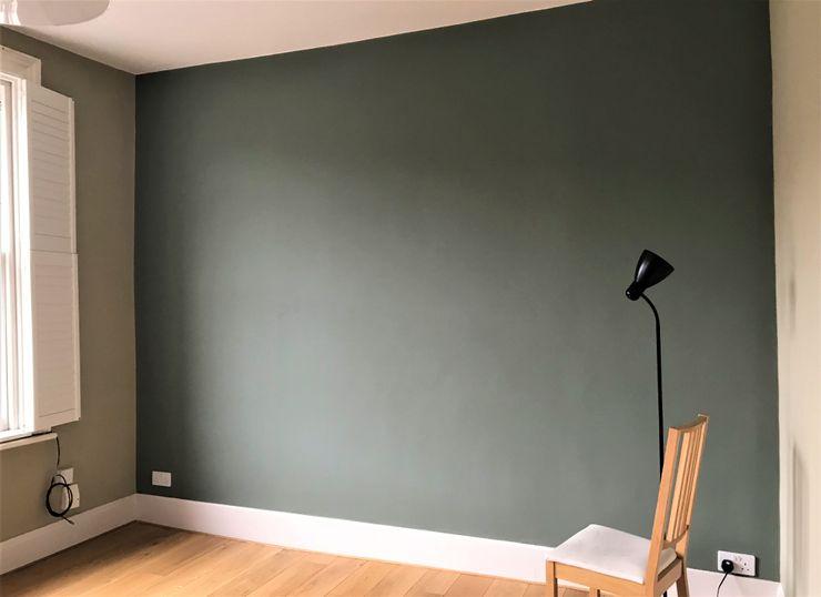 Painters and decorators in Highbury Square Paintforme Soggiorno classico Verde
