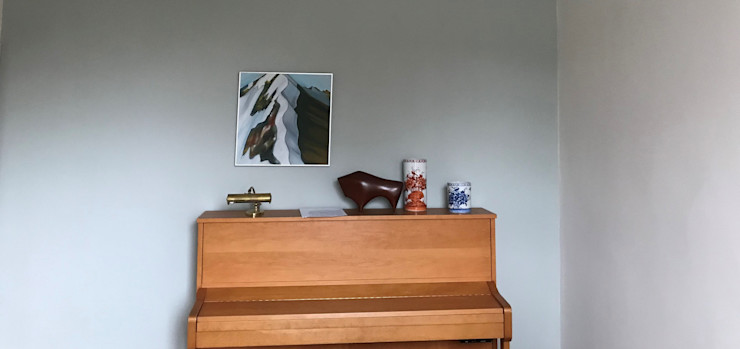 Painters and decorators in Highbury Square Paintforme Classic style study/office Blue