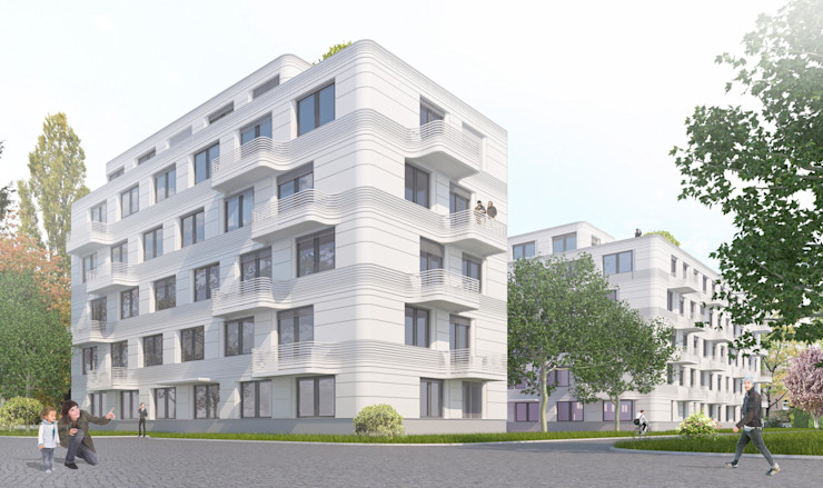 designyougo - architects and designers Multi-Family house Reinforced concrete White
