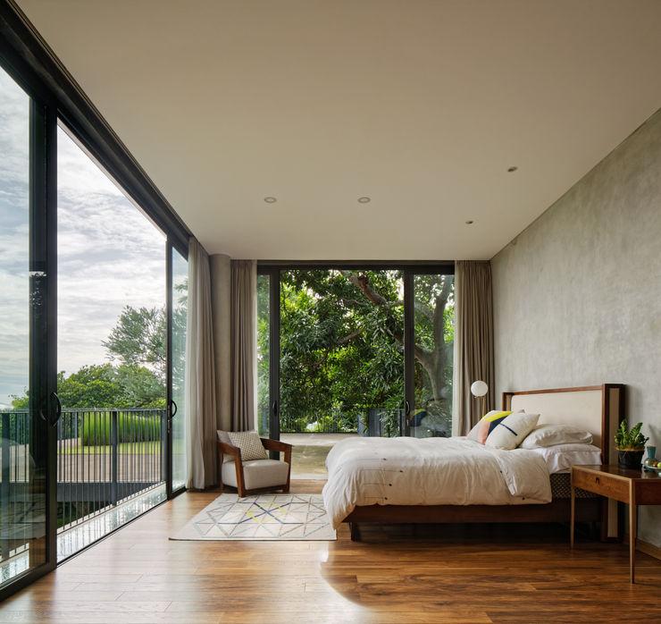 Tamara Wibowo Architects 臥室 木頭