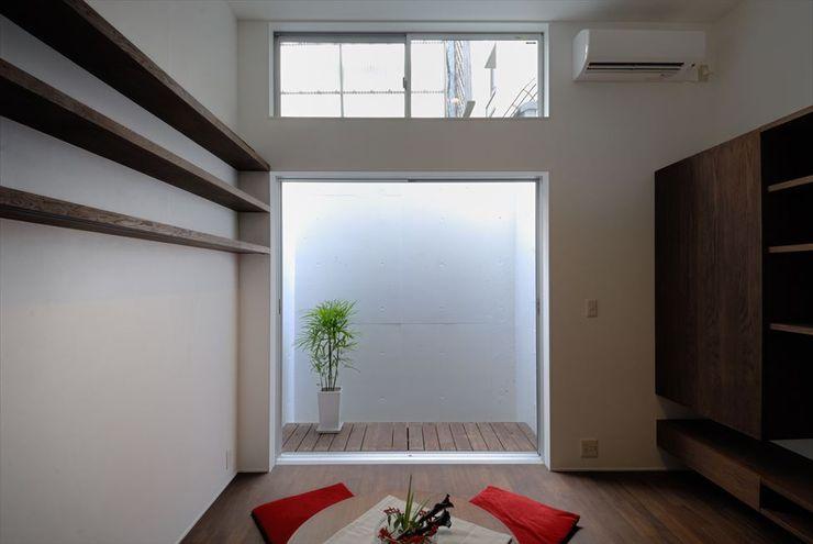 祇園の家 nest 和風デザインの リビング