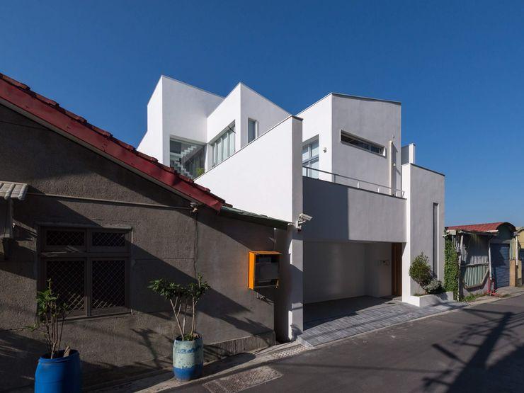 台南自地自建北歐風 勝暉建築工程行 Moderne Häuser
