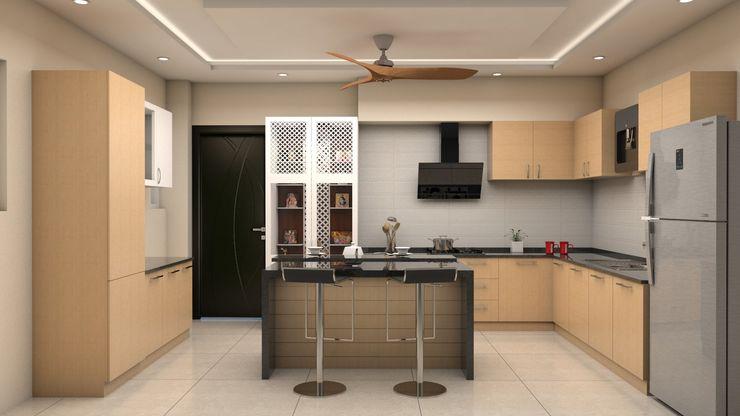 ARK Architects & Interior Designers Cocinas de estilo moderno