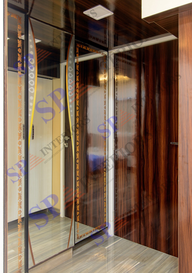 SP INTERIORS Modern dressing room