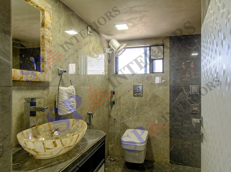 SP INTERIORS Modern bathroom