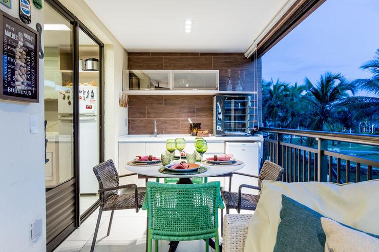 Coletânea Arquitetos Balcones y terrazas tropicales