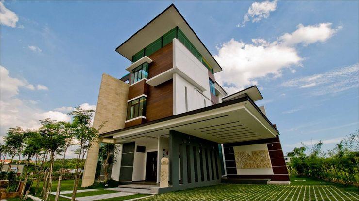 Arkitek Axis Casas de estilo moderno