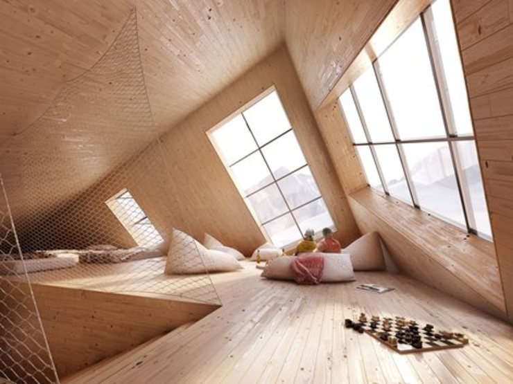 Drevo - Wood Solutions Lda Minimalist bedroom