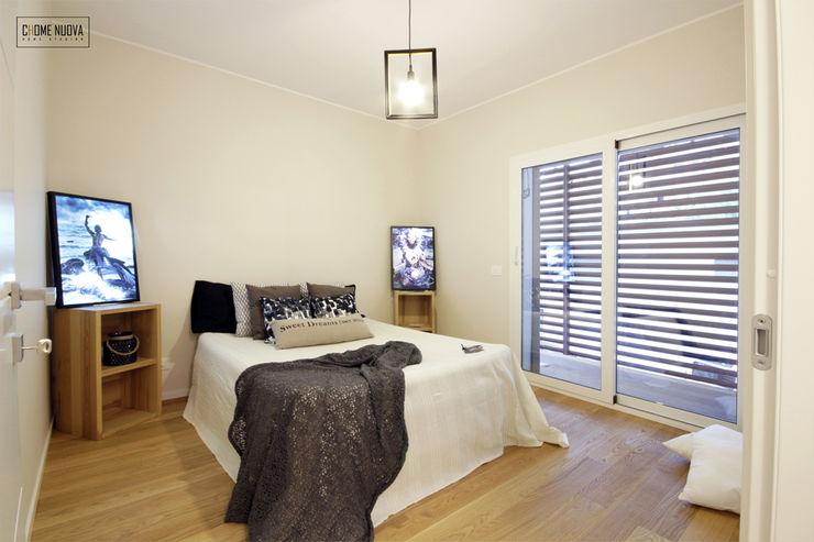 Home Staging Roma - CHome Nuova cHome Nuova Camera da letto in stile scandinavo Legno Ambra/Oro