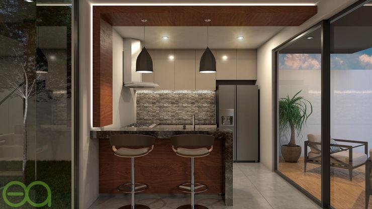 Interior Cocina homify Cocinas modernas