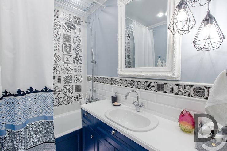 Ванная комната Design Service Ванная комната в скандинавском стиле