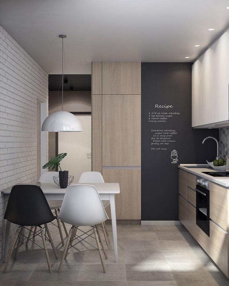 Appartement/Saint-Pétersbourg, Russie, 2018 Tatiana Sukhova Cuisine moderne