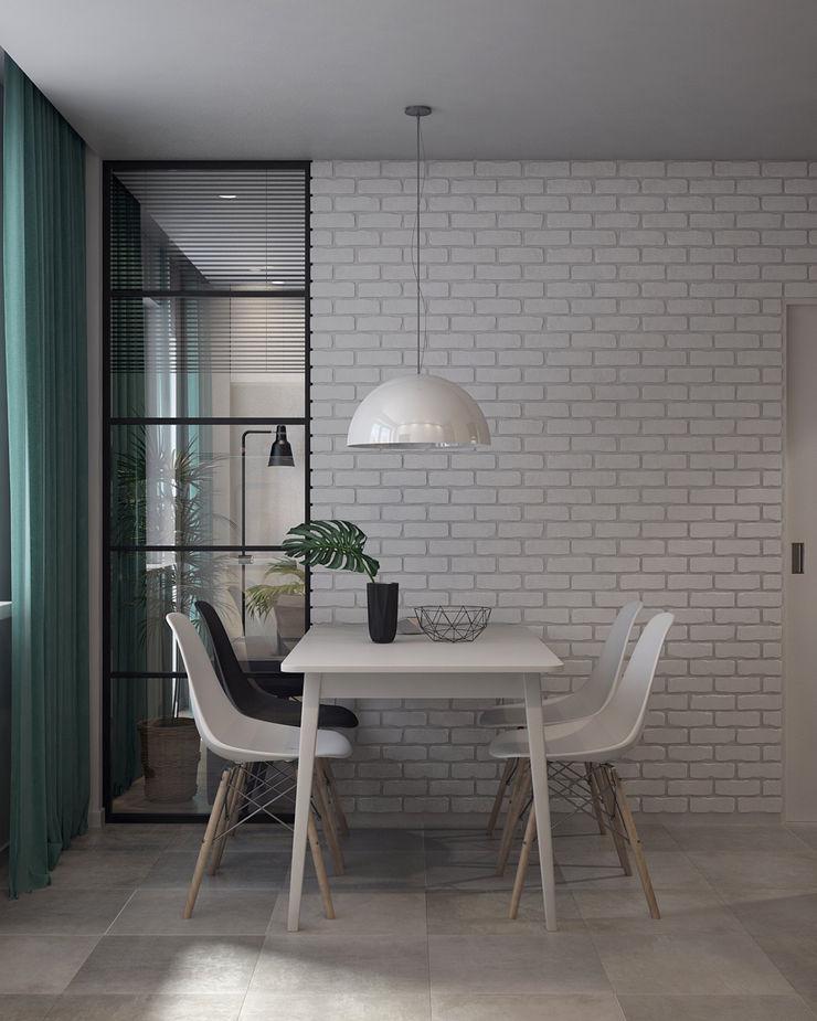 Appartement/Saint-Pétersbourg, Russie, 2018 Tatiana Sukhova Salle à manger moderne