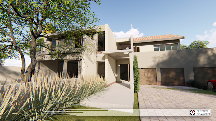 House Moeletsi Property Commerce Architects Modern houses