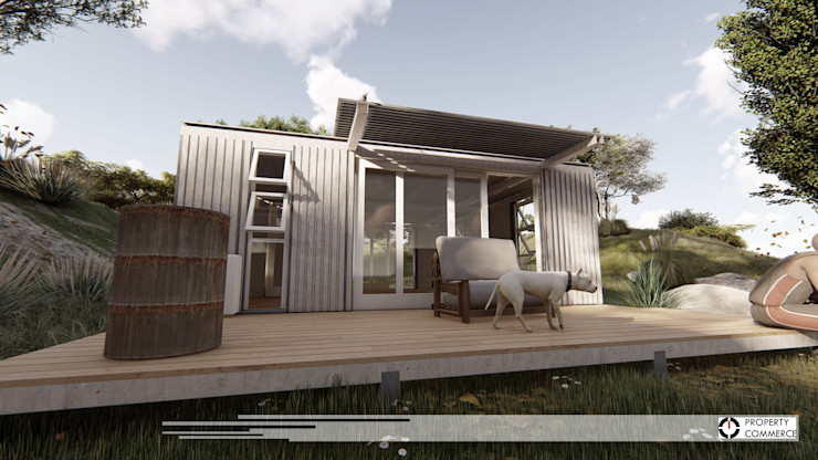 Container House Property Commerce Architects Industrial style houses
