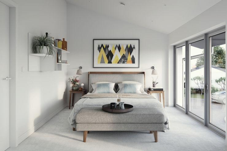 Hilgrove Mews Ruin Studio Modern style bedroom