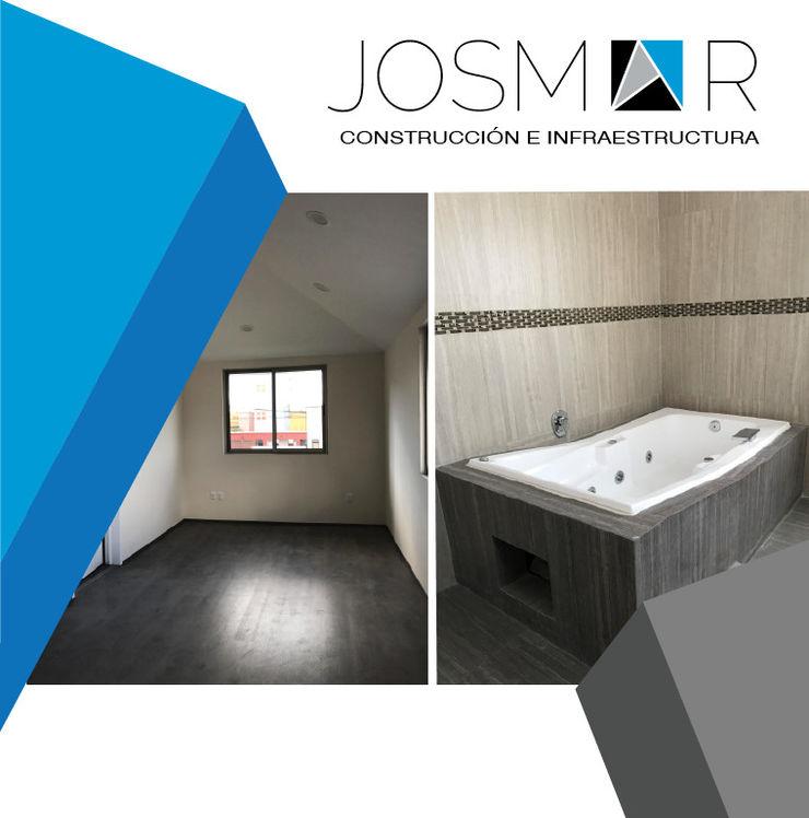 JOSMAR CONSTRUCCIÓN E INFRAESTRUCTURA Modern style bedroom White