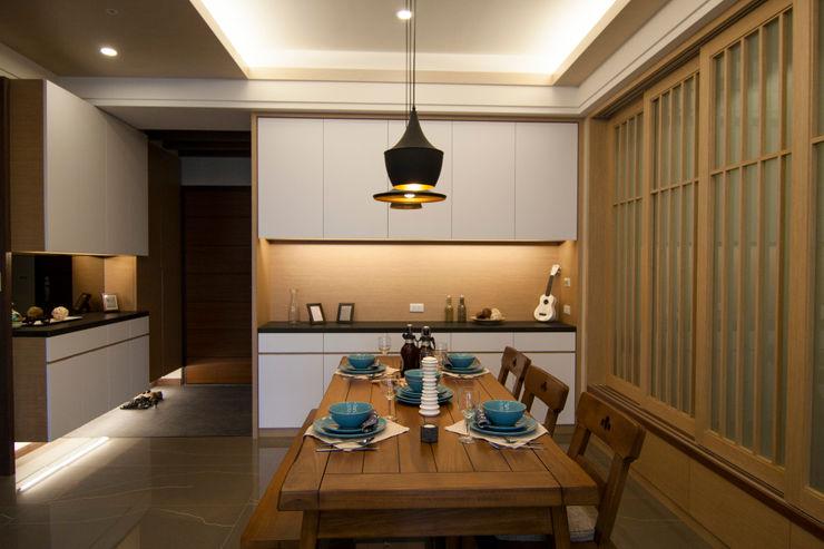 日式休閒的退休宅居 青築制作 餐廳
