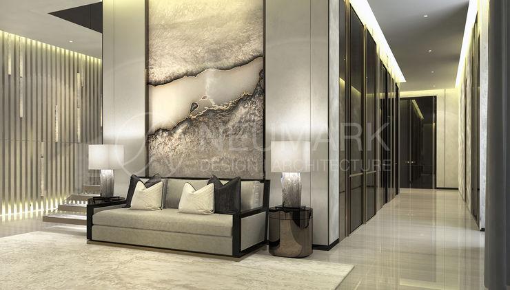 NEUMARK Minimalist corridor, hallway & stairs