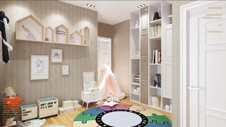 Enrich Artlife & Interior Design Sdn Bhd Dormitorios infantiles de estilo moderno