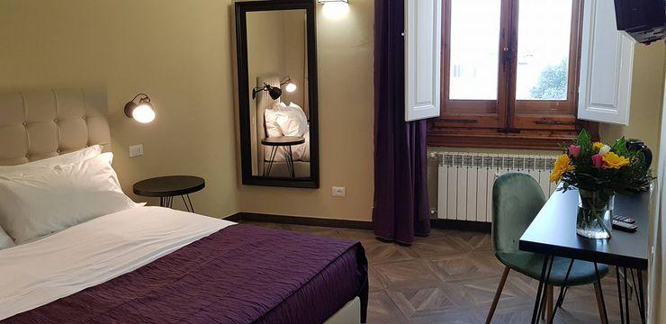 Sette magnifiche Camere con Sette splendidi Bagni Studio Bennardi - Architettura & Design Camera da letto moderna