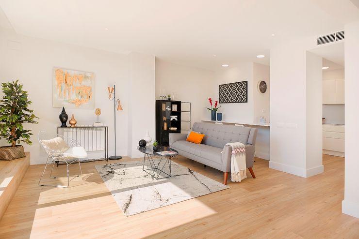 Salón Markham Stagers Salones de estilo moderno
