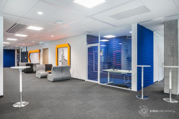 nowoczesne biuro, quiet room SARNA ARCHITECTS Interior Design Studio Przestrzenie biurowe i magazynowe