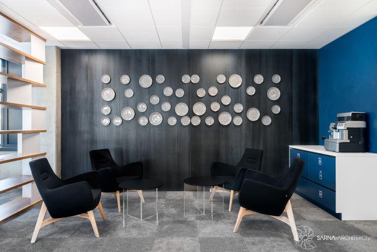 nowoczesne biuro, strefa jadalni, canteen SARNA ARCHITECTS Interior Design Studio Przestrzenie biurowe i magazynowe