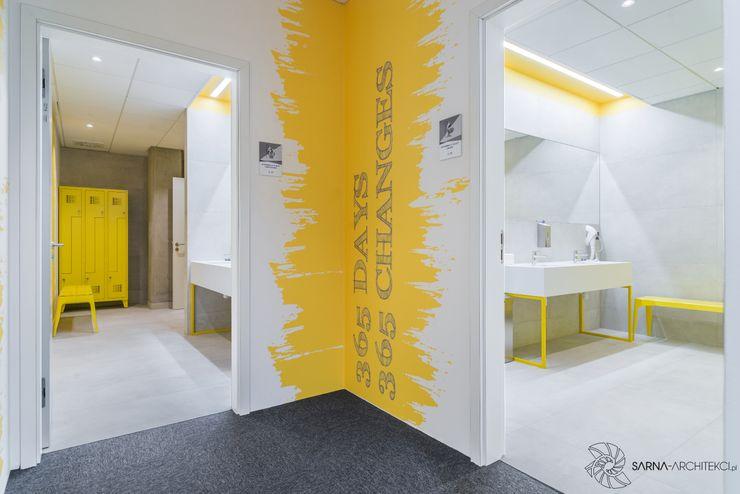 Nowoczesne biuro, lazienka SARNA ARCHITECTS Interior Design Studio Przestrzenie biurowe i magazynowe